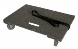 Chariot plate forme avec tapis