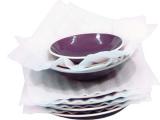 Papier mousse blanc pour assiette